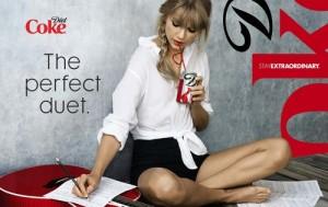 Taylor Swift, Diet Coke brand