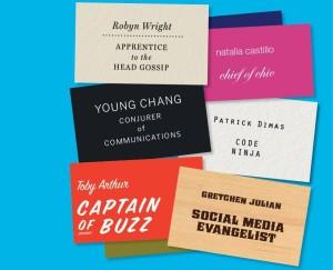 rebranding job titles